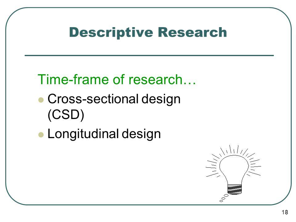 Studi Cross-sectional vs Longitudinal Studi cross-sectional dilakukan pada suatu titik waktu tertentu yg bersamaan dari berbagai tempat yg berbeda.