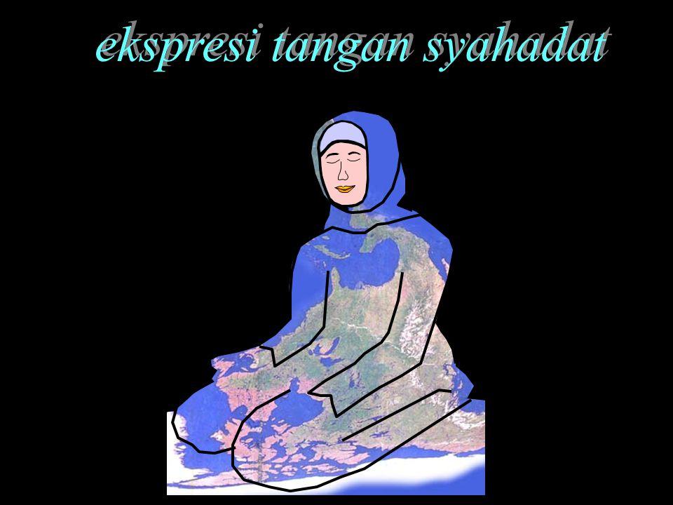 ekspresi tangan syahadat ekspresi tangan syahadat