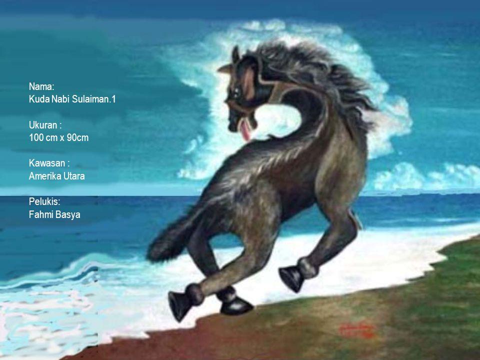 dikatakan bahwa Nabi Sulaiman pernah melihat Kuda di waktu Sore.