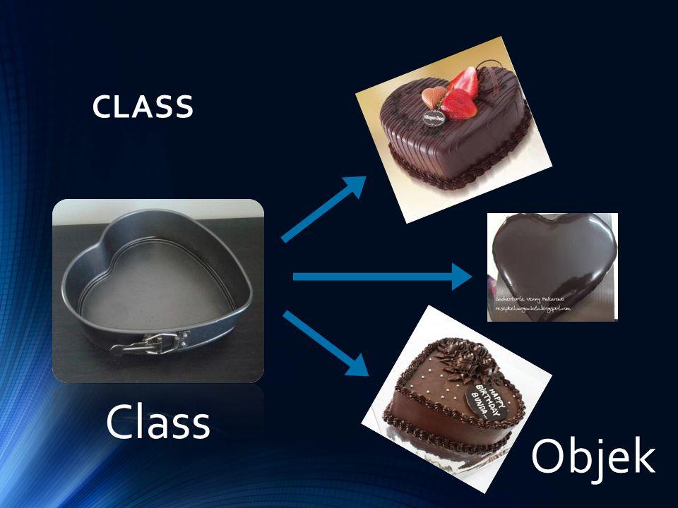 CLASS Class Objek