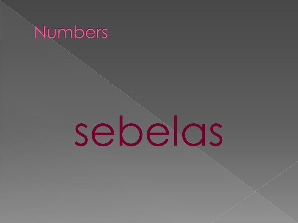 sebelas