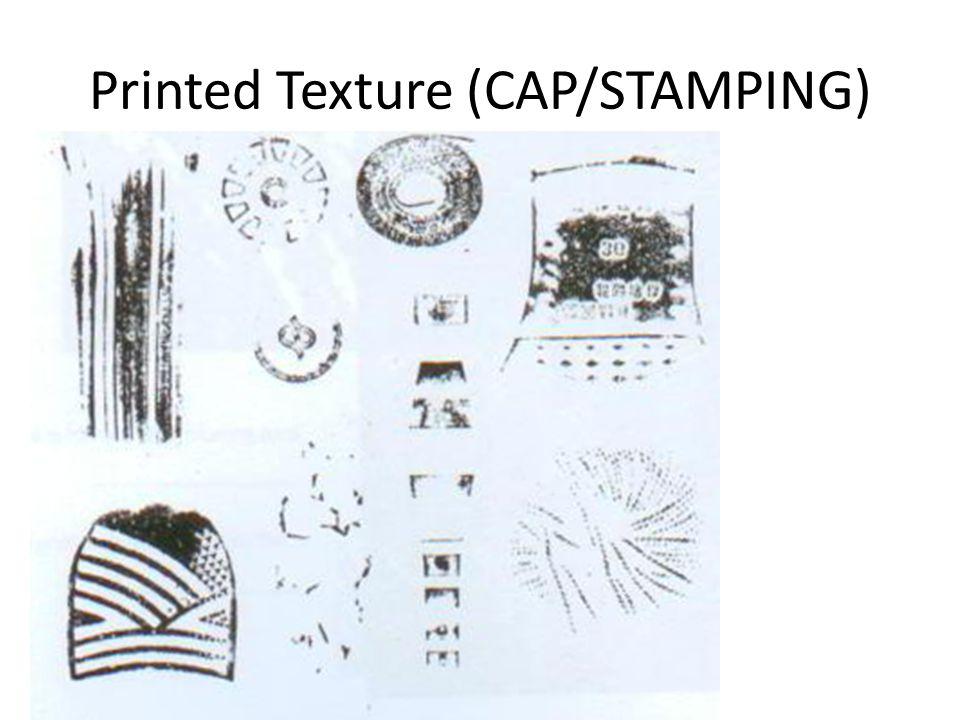Printed Texture (CAP/STAMPING)