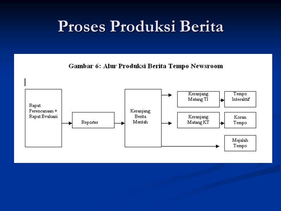 Proses Produksi Berita