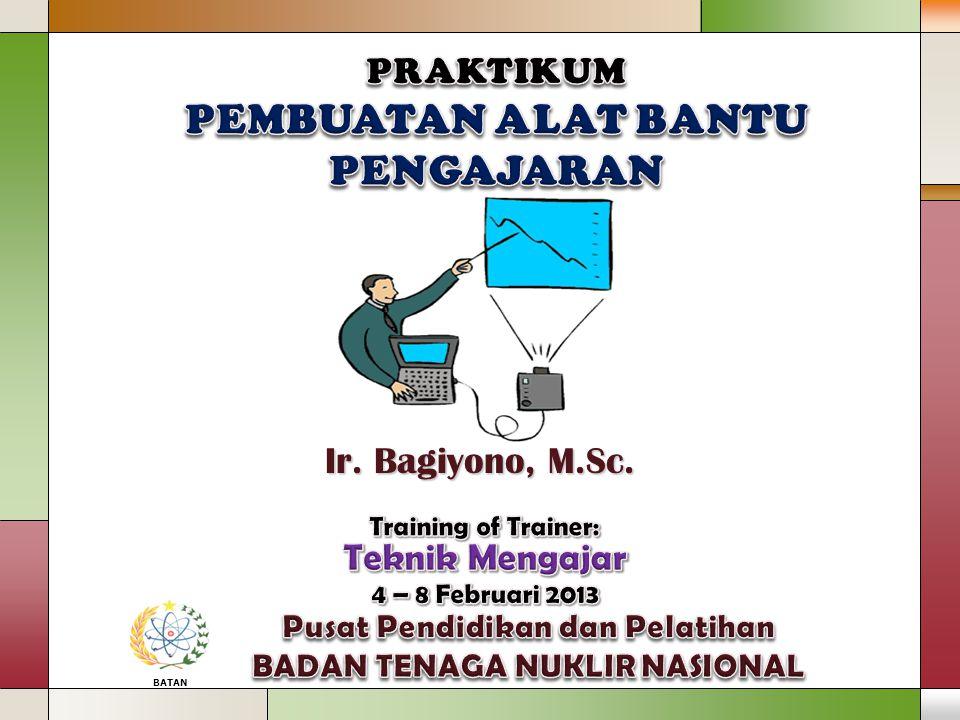 BATAN Ir. Bagiyono, M.Sc.