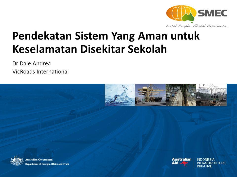 INDONESIA INFRASTRUCTURE INITIATIVE Pendekatan Sistem Yang Aman untuk Keselamatan Disekitar Sekolah Dr Dale Andrea VicRoads International
