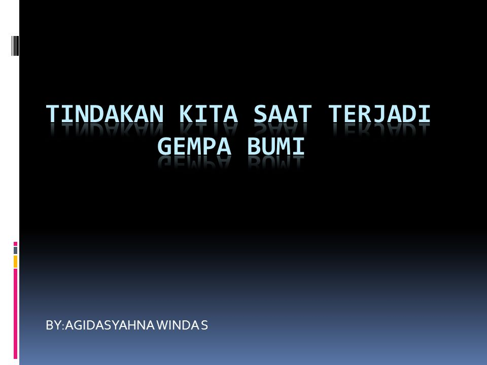 BY:AGIDASYAHNA WINDA S