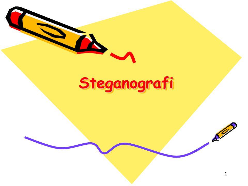 1 SteganografiSteganografi