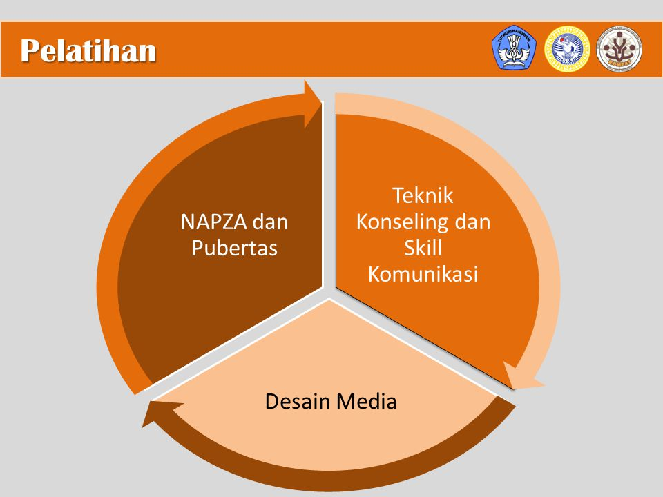 Pelatihan Teknik Konseling dan Skill Komunikasi Desain Media NAPZA dan Pubertas