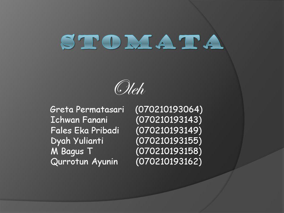 Oleh Greta Permatasari(070210193064) Ichwan Fanani(070210193143) Fales Eka Pribadi(070210193149) Dyah Yulianti(070210193155) M Bagus T(070210193158) Qurrotun Ayunin(070210193162)