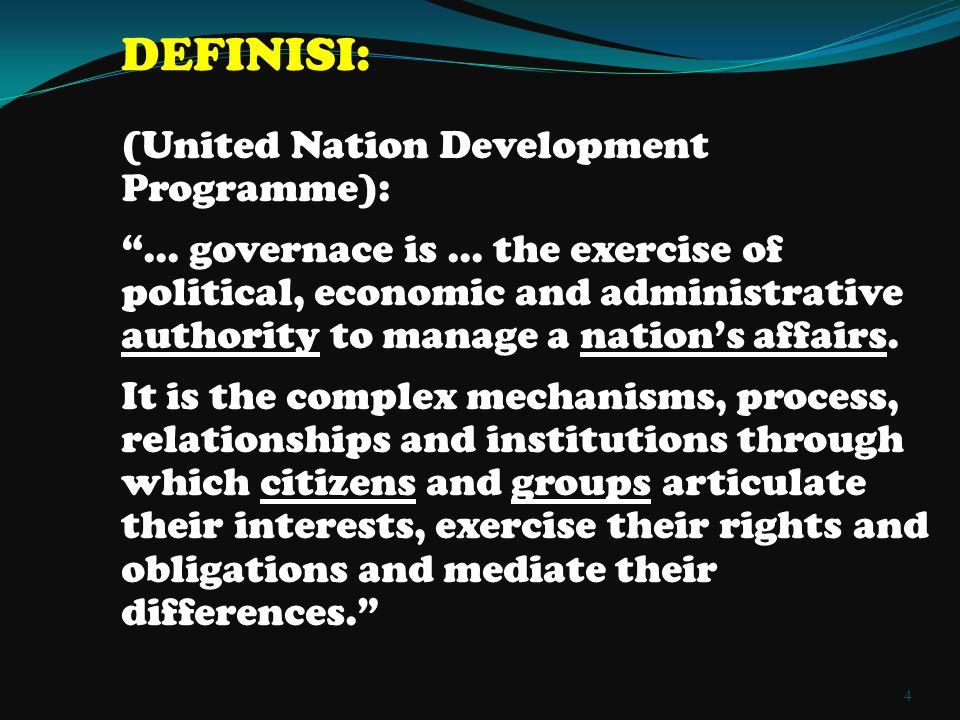 4/7/2015Good Governance15 4/7/2015