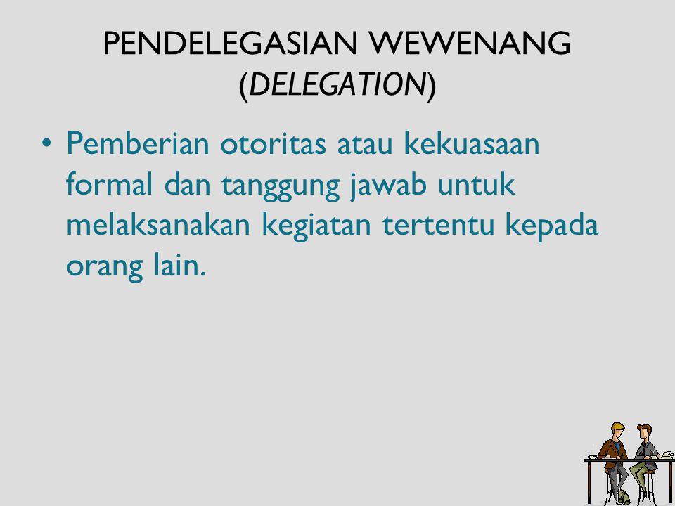 Otoritas Fungsional (functional authority) merupakan hak untuk mengendalikan kegiatan departemen lain dalam huubungannya dengan tanggung jawab staf yang khusus.