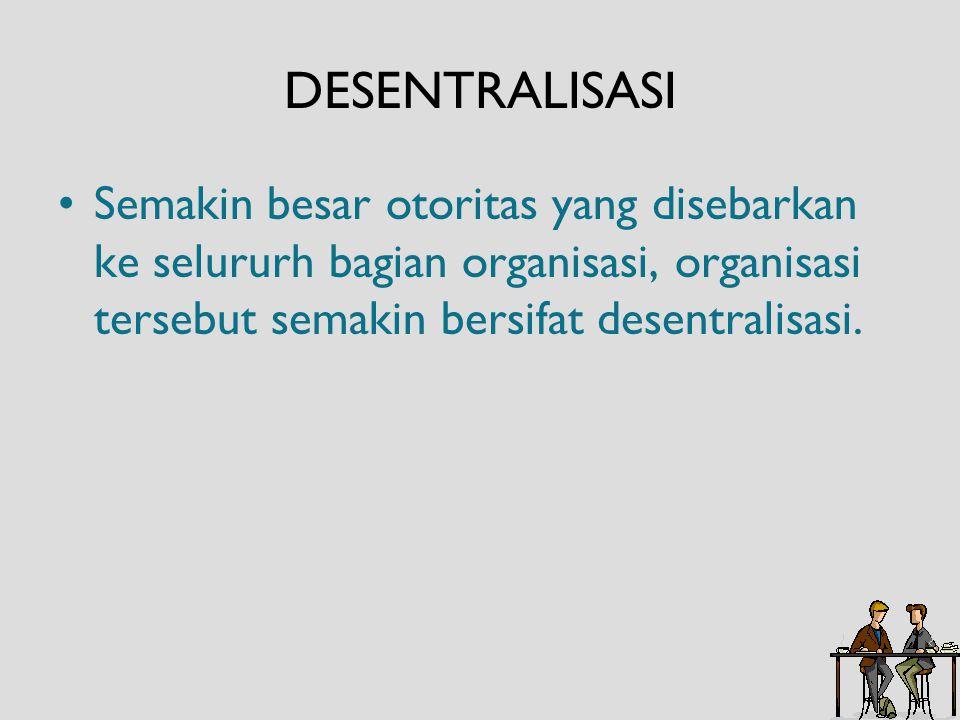 Hambatan Pendelegasian Wewenang yang efektif: Keengganan untuk mendelegasikan wewenang.