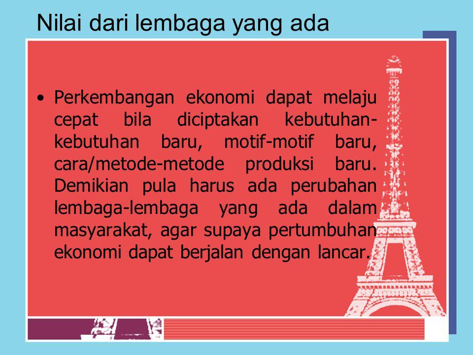 Masalah-masalah pembangunan ekonomi Menurut Sadono Sukirno  Struktur umur penduduk dan masalah pengangguran masalah yang dihadapi adalah struktur penduduk yang berat sebelah, yaitu banyknya penduduk yang berada di bawah umur (dibawah 15 tahun), dan penduduk usia produktif antara 15-64 thn.