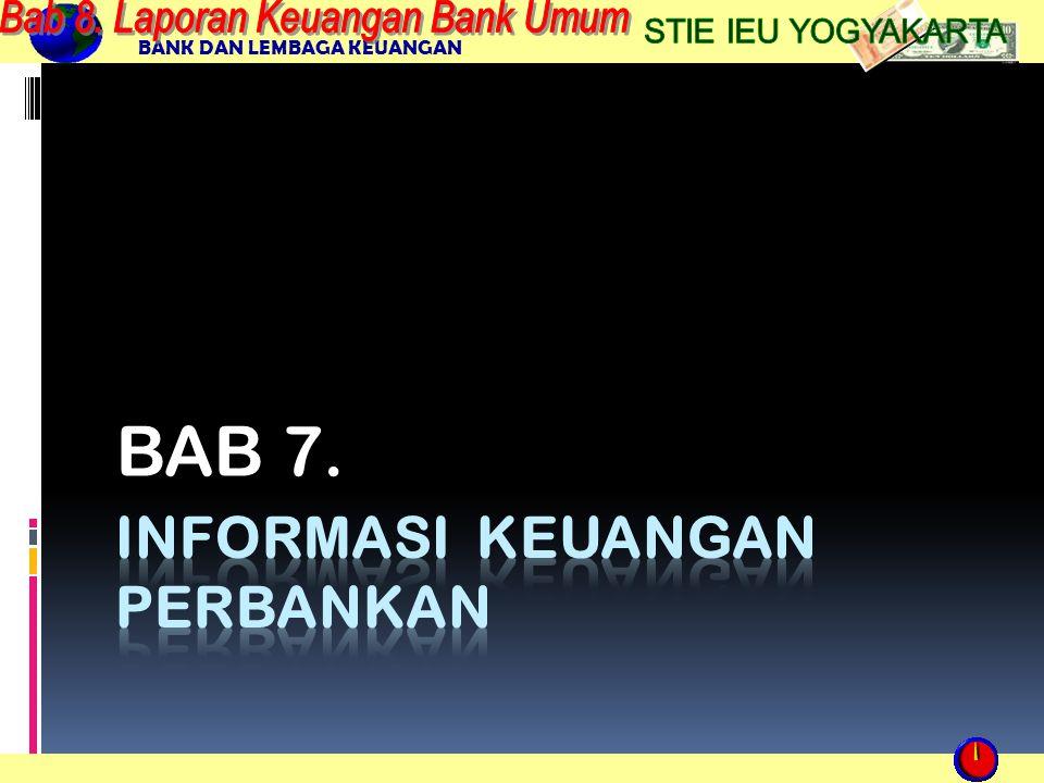 BANK DAN LEMBAGA KEUANGAN BAB 7.