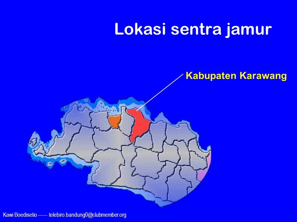 Kawi Boedisetio ------ telebiro.bandung0@clubmember.org Lokasi sentra jamur Kabupaten Karawang