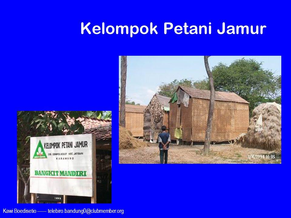 Kawi Boedisetio ------ telebiro.bandung0@clubmember.org Kelompok Petani Jamur