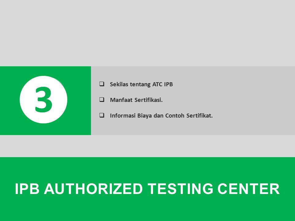 Captive Portal, User Access, Setting Proxy, Cyber Mahasiswa, IMOVSES, HotSpot (WiFi), SIM IPB IPB AUTHORIZED TESTING CENTER 3  Sekilas tentang ATC IP