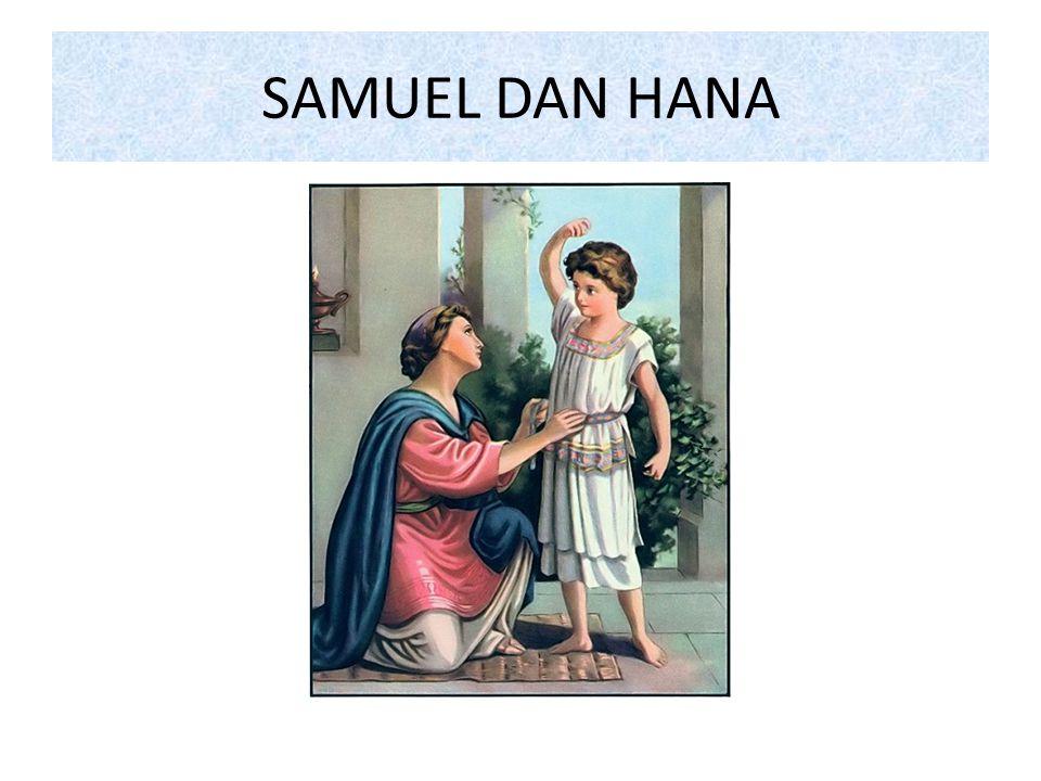 SAMUEL DISERAHKAN KEPADA IMAM ELI