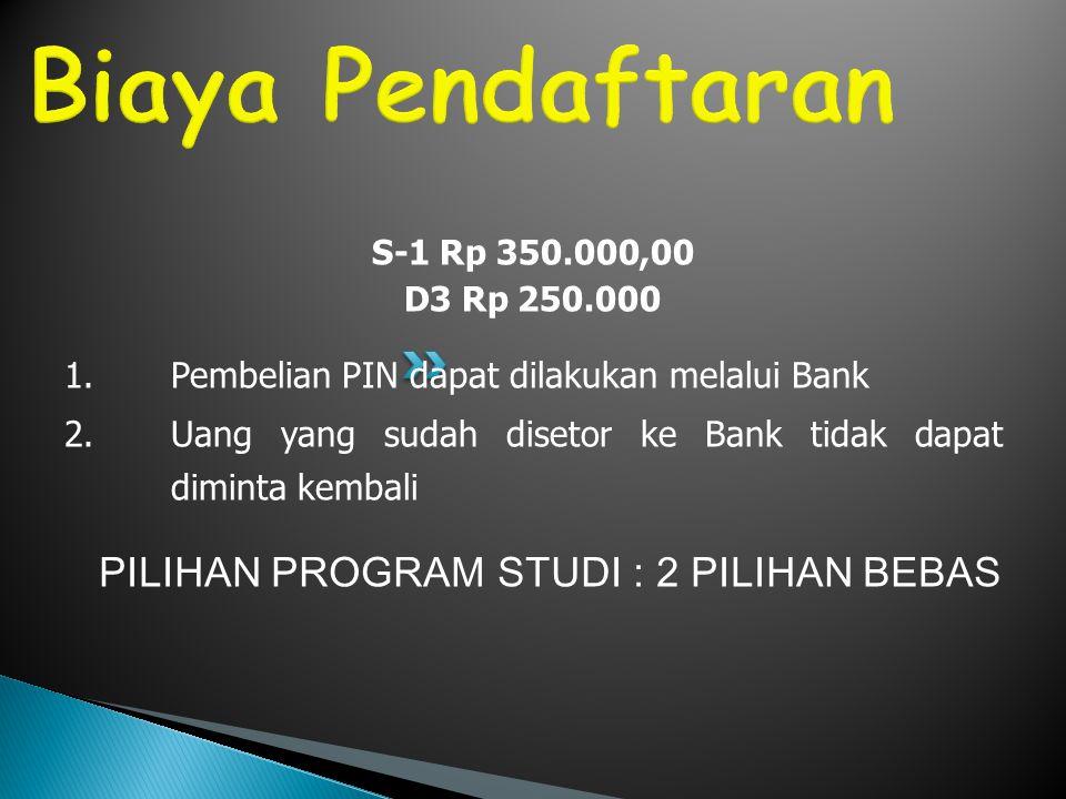 Tes TKA dan TKB 1.TKA (Tes Kemampuan Akademik) Matematika Dasar Bahasa Indonesia Bahasa Inggris 2.TKB (Tes Kemampuan Belajar)