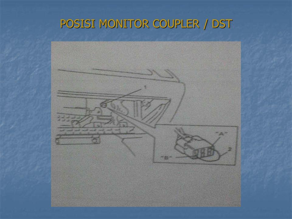 PROSEDUR MELIHAT DTC PROSEDUR MELIHAT DTC 1.Carilah monitor coupler 1.