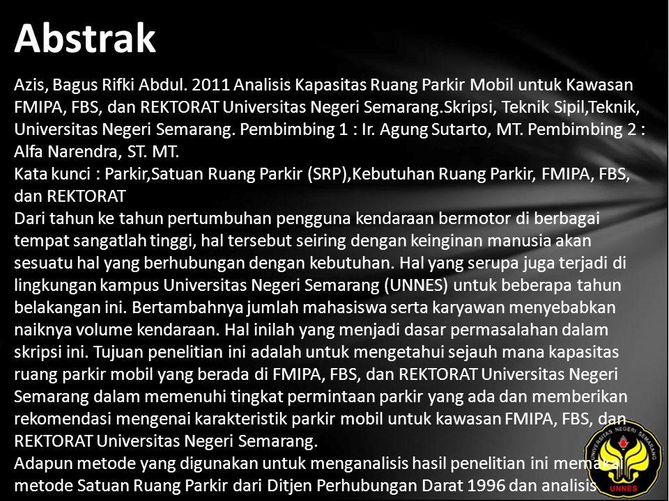 Abstrak Azis, Bagus Rifki Abdul.