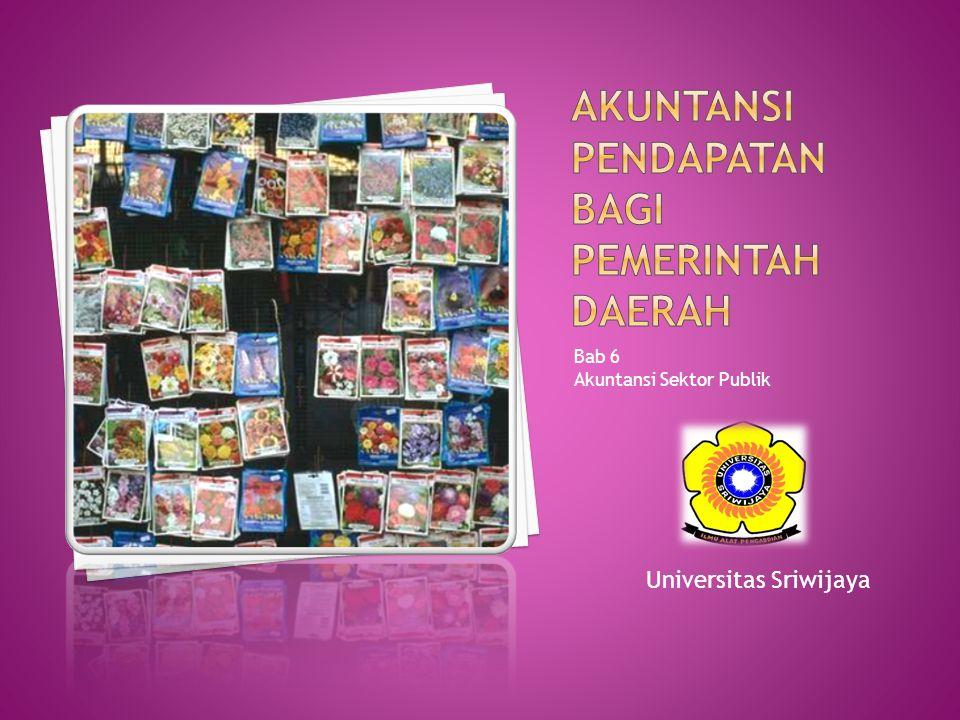 Bab 6 Akuntansi Sektor Publik Universitas Sriwijaya