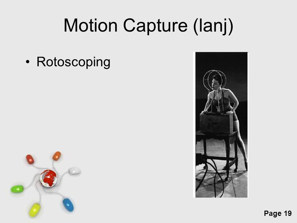 Free Powerpoint Templates Page 19 Motion Capture (lanj) Rotoscoping