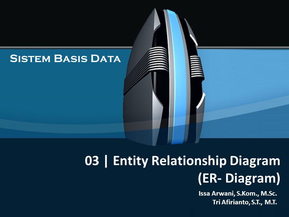03 | Entity Relationship Diagram (ER- Diagram) Sistem Basis Data Issa Arwani, S.Kom., M.Sc.