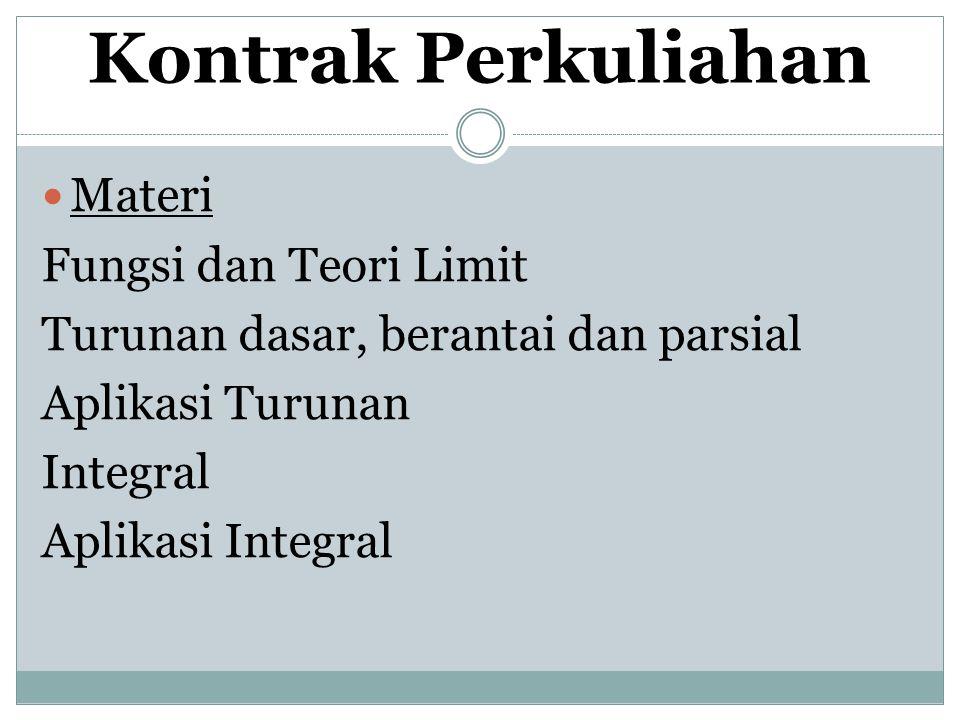 Kontrak Perkuliahan Pustaka Kuhfitting, P.KF.1984.