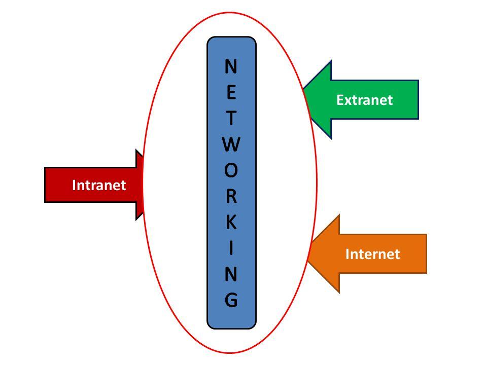 Networking : Jaringan komputer.