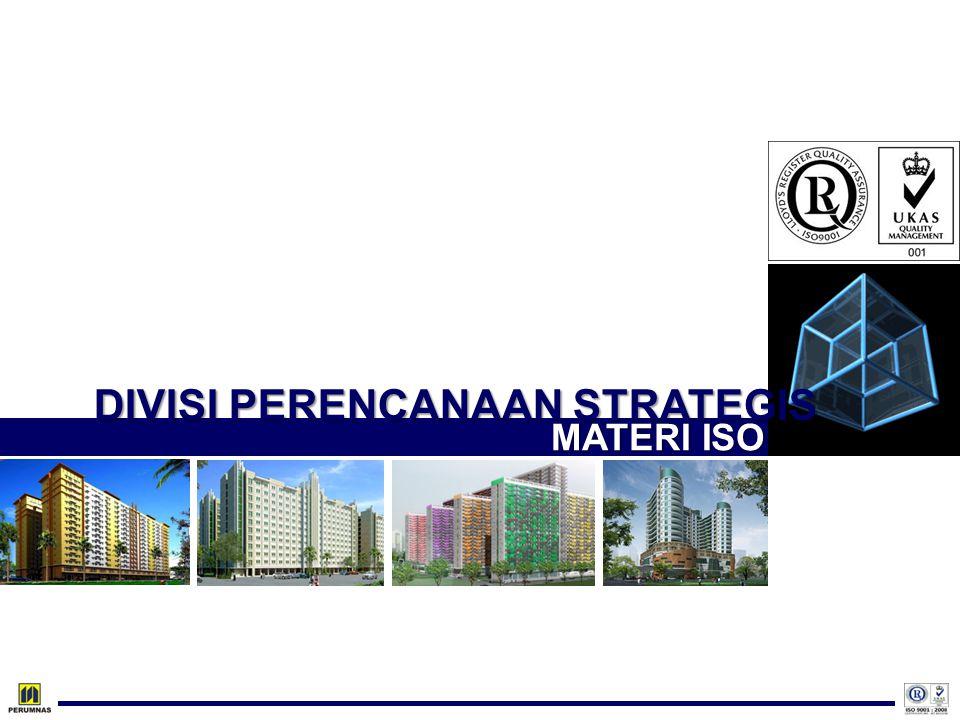 DIVISI PERENCANAAN STRATEGIS MATERI ISO