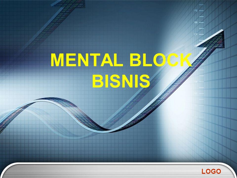 LOGO MENTAL BLOCK BISNIS