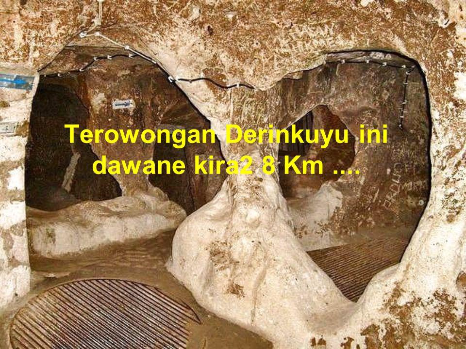 Eeeeee alah, rupane ana watu guedhe2 sak gajah abuh iki sing digawe nutupi lubang masuk dadi kadya lawang.....