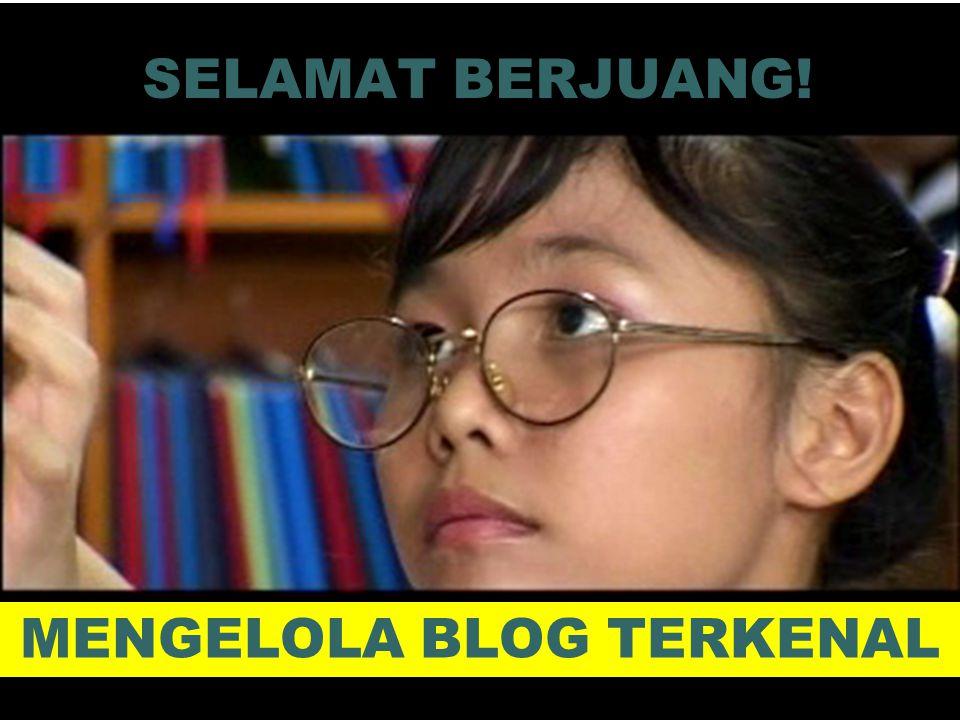 KREATIF & BERPRESTASI 10 Selamat Membuat Blog!