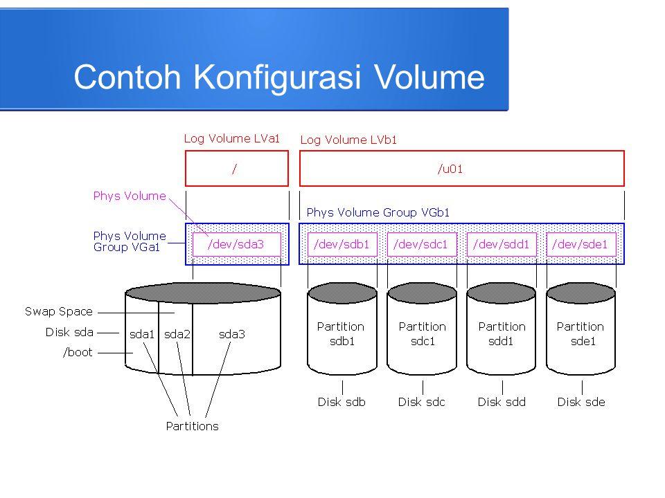 Mounting File System ● Mounting adalah proses mengkaitkan suatu sistem file ke dalam struktur file sistem.