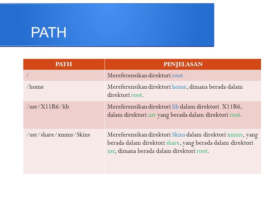 Linux File System ● Dimulai dari root