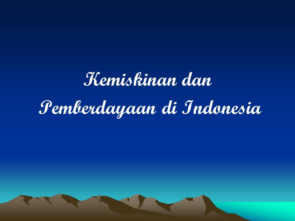 Kemiskinan dan Pemberdayaan di Indonesia