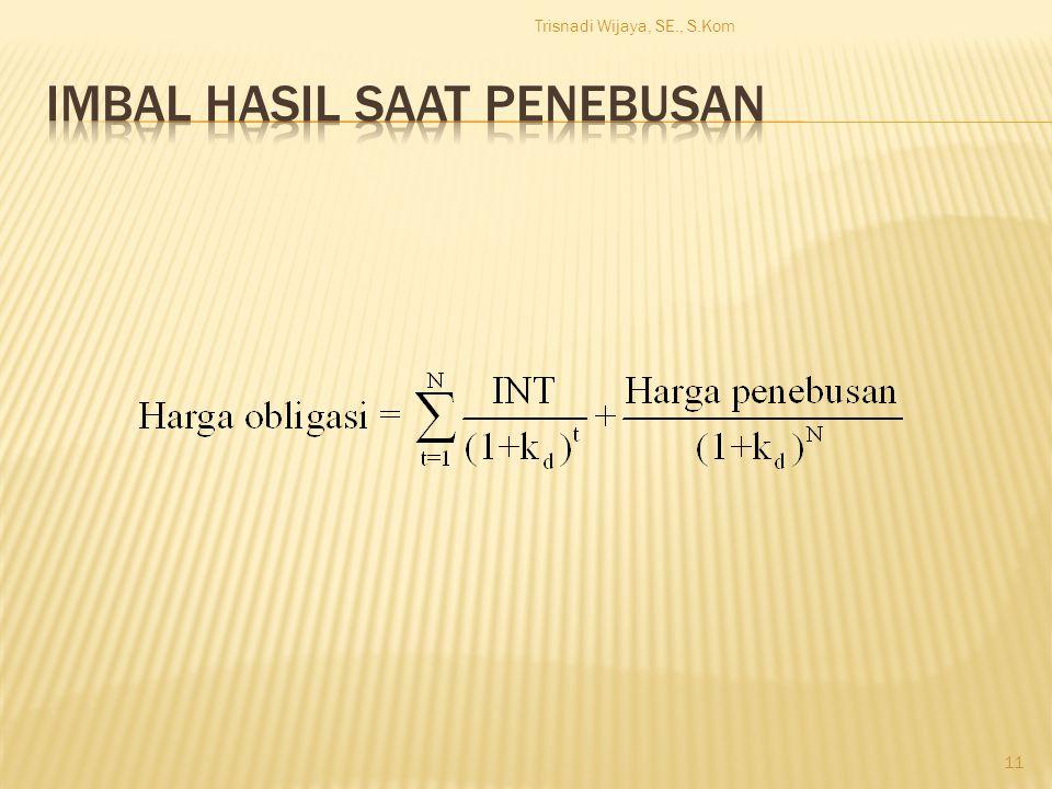 Trisnadi Wijaya, SE., S.Kom 11
