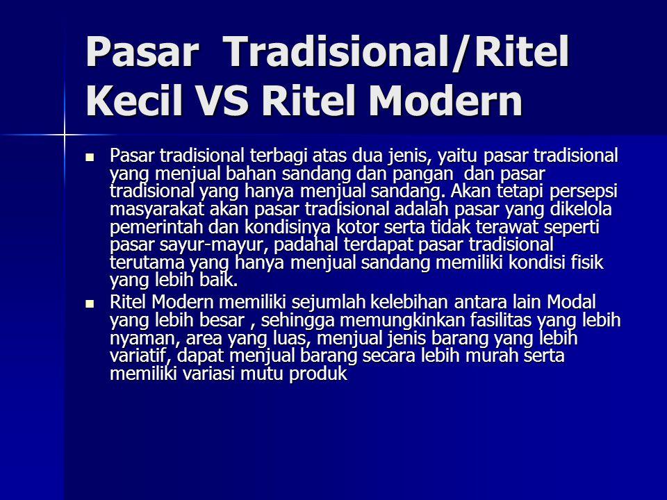 Industri Ritel Indonesia Liberalisasi ritel Indonesia Liberalisasi ritel Indonesia –Keputusan Presiden No 96/2000 No 118/2000 yang mencabut ritel dari negative list Investasi.
