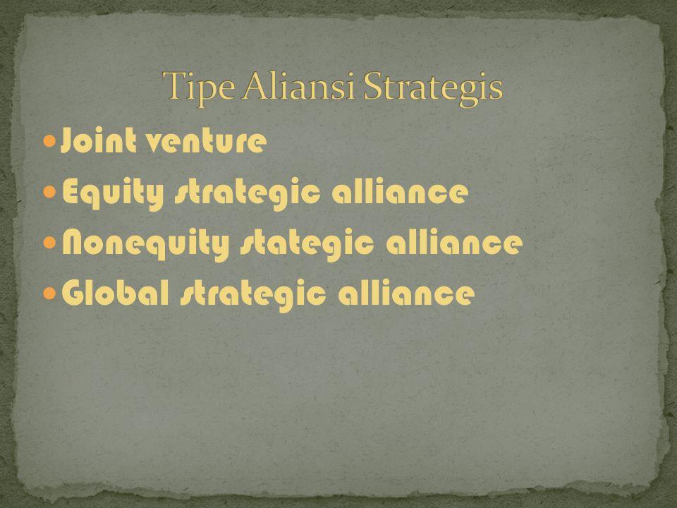 Pengembangan strategis Penilaian rekaman Negosiasi kontrak Operasionalisasi aliansi pemutusan aliansi