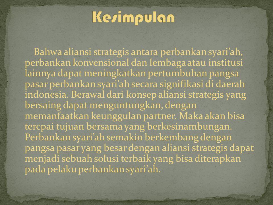 Jenis Strategis Jaringan Kerja antara lain: 1.Jaringan Aliansi Stabil 2.Jaringan Aliansi Dinamis 3.Jaringan Aliansi Internal