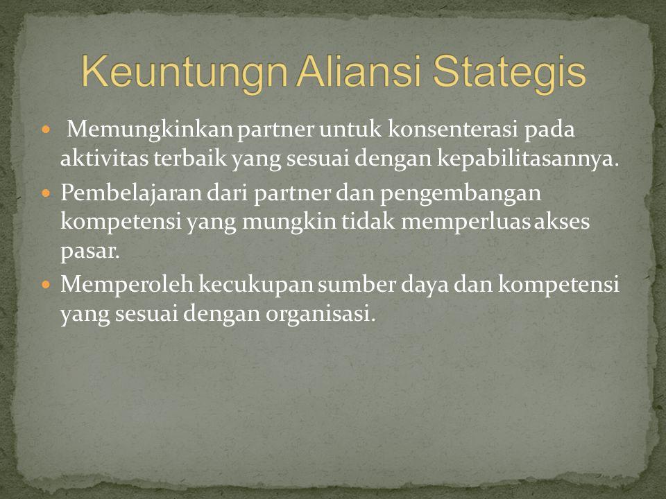 Aliansi strategis perbankan syari'ah Aliansi strategis perbankan konvensional yang menerapkan office chenneling