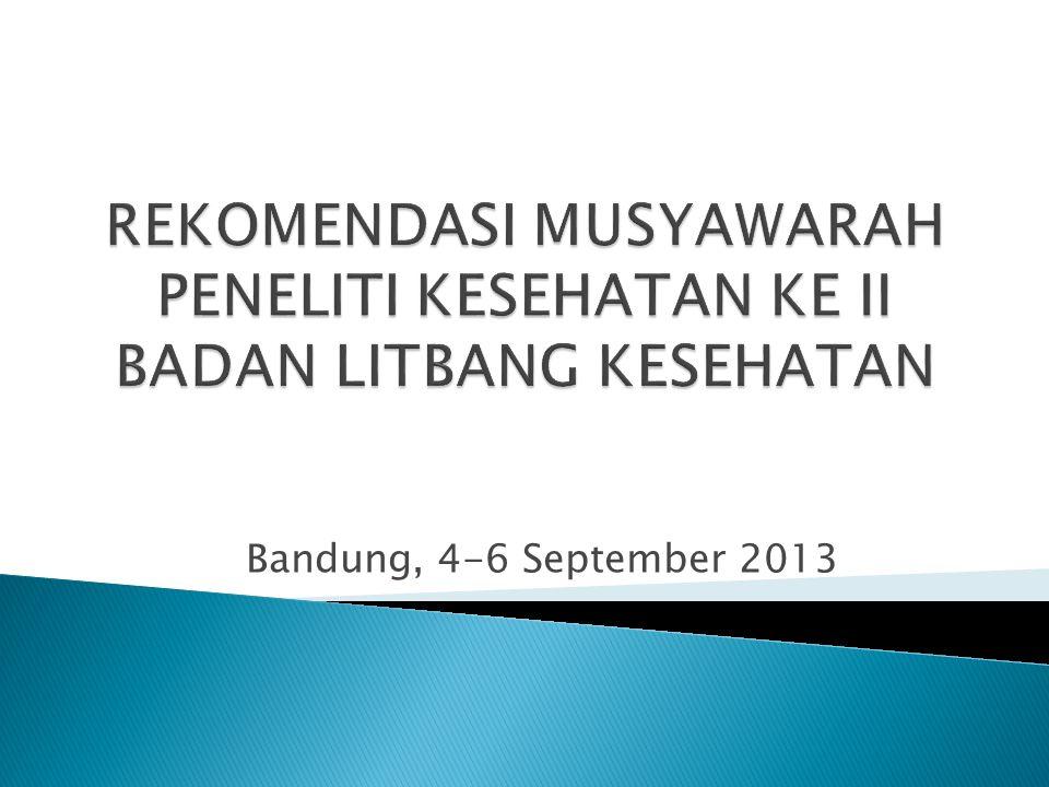 Bandung, 4-6 September 2013