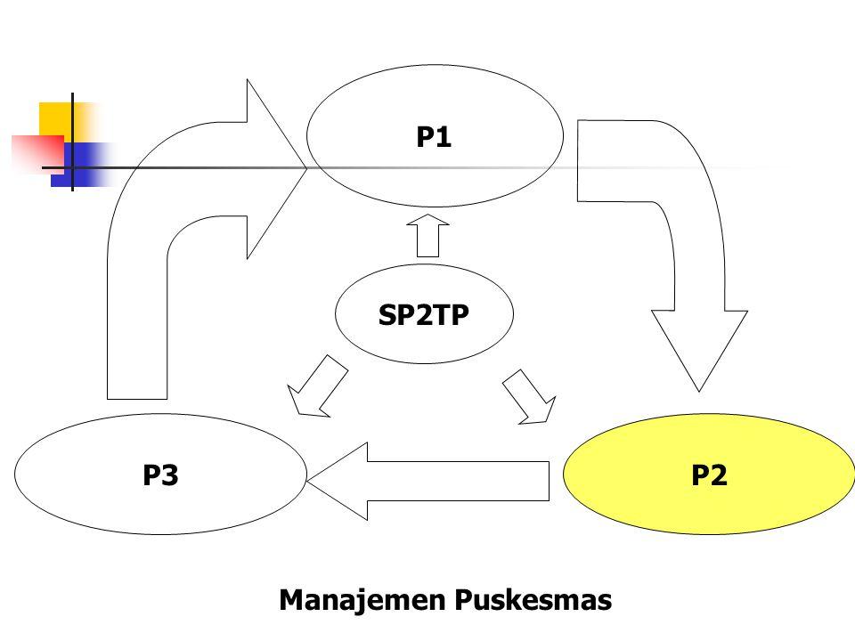 P1 P2P3 SP2TP Manajemen Puskesmas