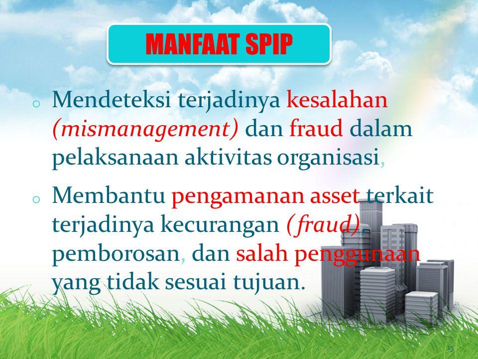 1)Menghasilkan data dan informasi yang handal.2)Menjaga harta/kekayaan dan catatan organisasi.