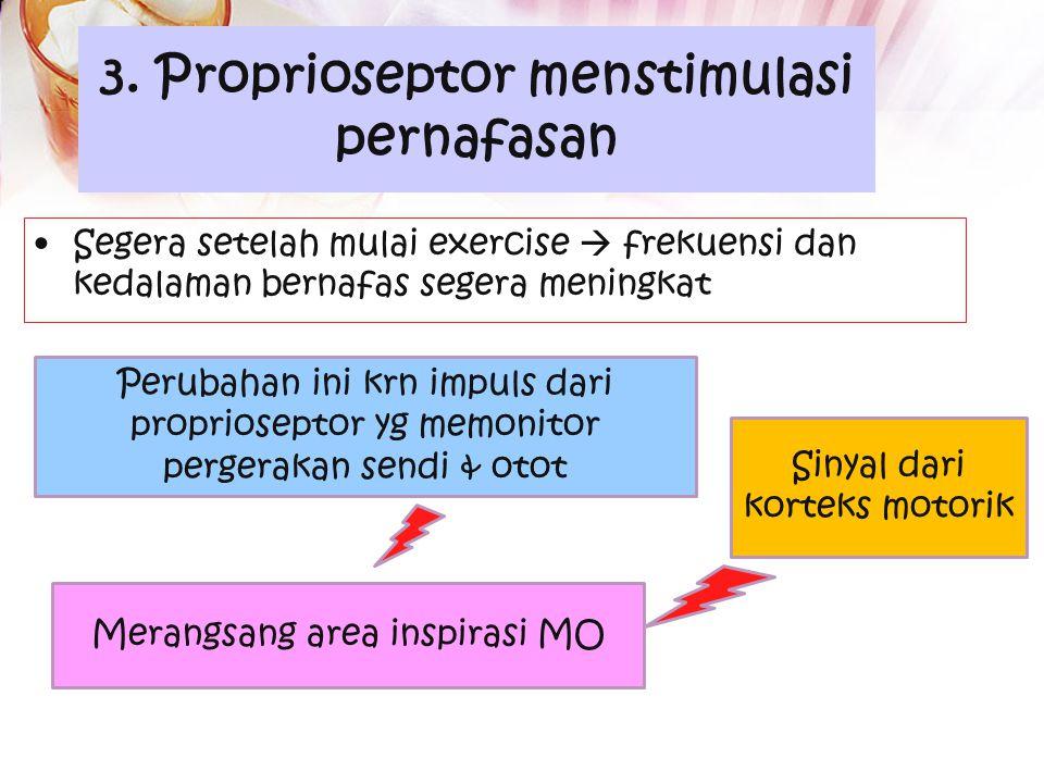 ` Efek ↑ PCO2 arteri pd pusat respirasi Pusat respirasi LEBIH SENSITIF thd Pe ↑ PCO2 dibanding pe ↓ PO2