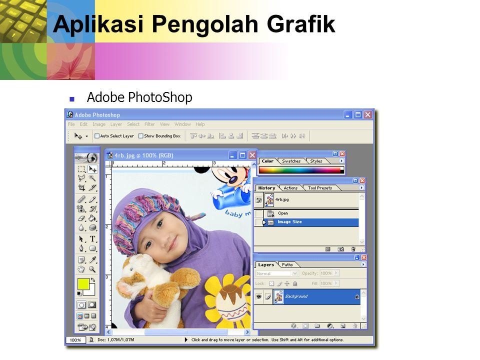 Aplikasi Pengolah Grafik Adobe PhotoShop