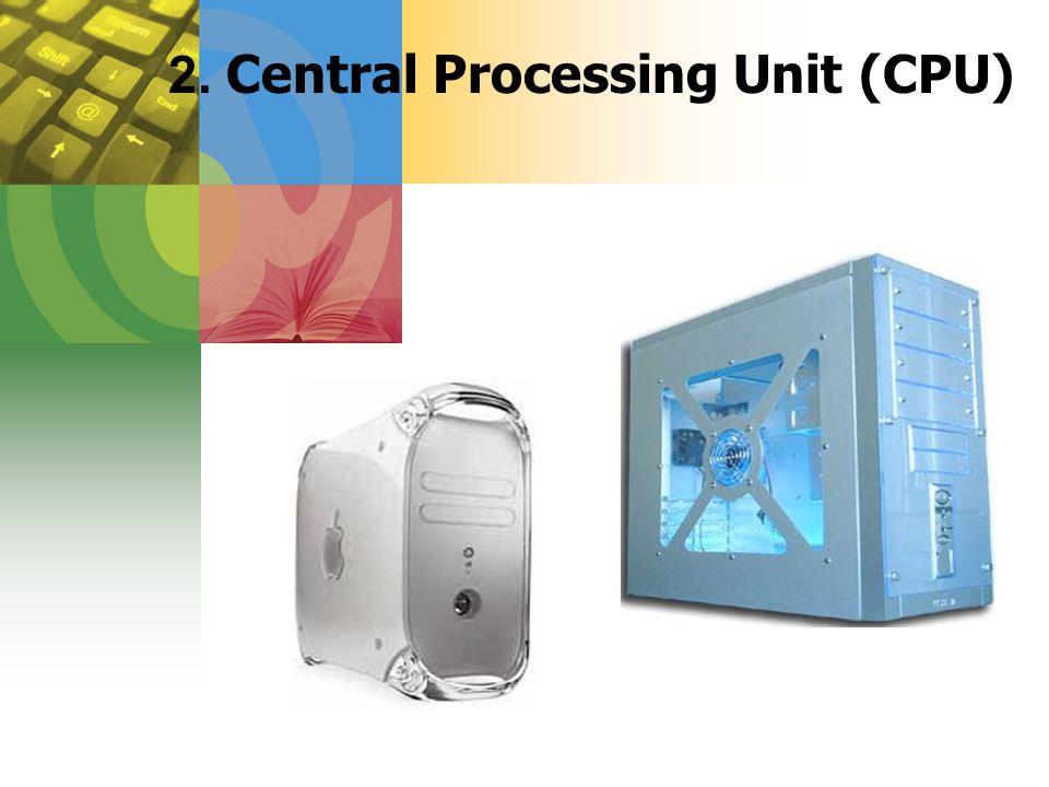 2. Central Processing Unit (CPU)