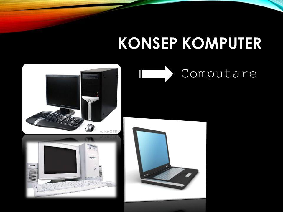KONSEP KOMPUTER Computare