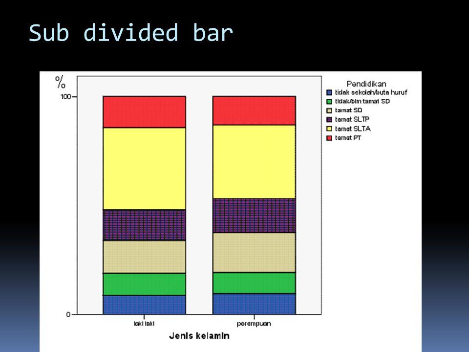 Sub divided bar